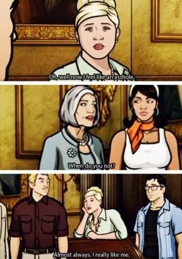 Pam Poovey from Archer Was That Bitch