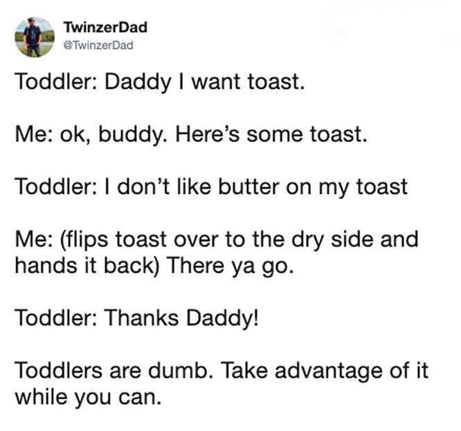 Hilarious Tweets About Parenting