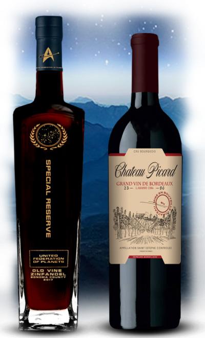 Chateau Picard Star Trek Wine
