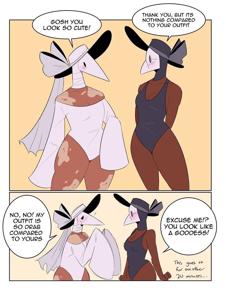 Plague Doctor Girlfriends
