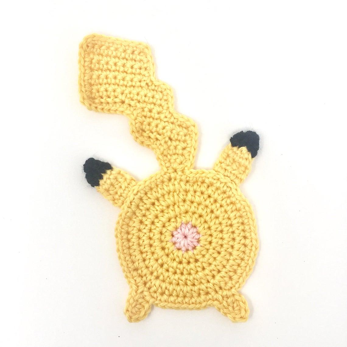 Pokemon Butt Coasters Crochet Patterns