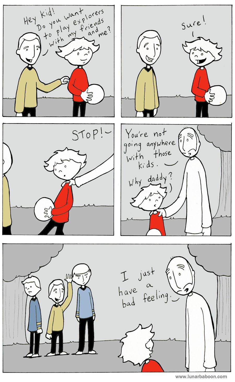 Red Shirt Comic