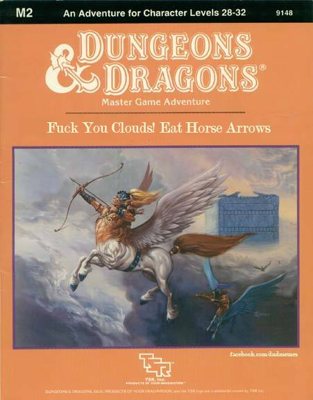 Renamed Dungeons & Dragons Modules