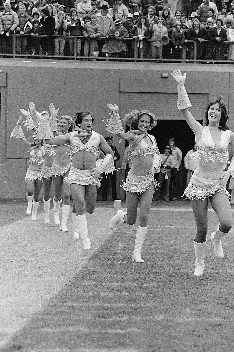 That Time Robin Williams Was a Denver Broncos Cheerleader