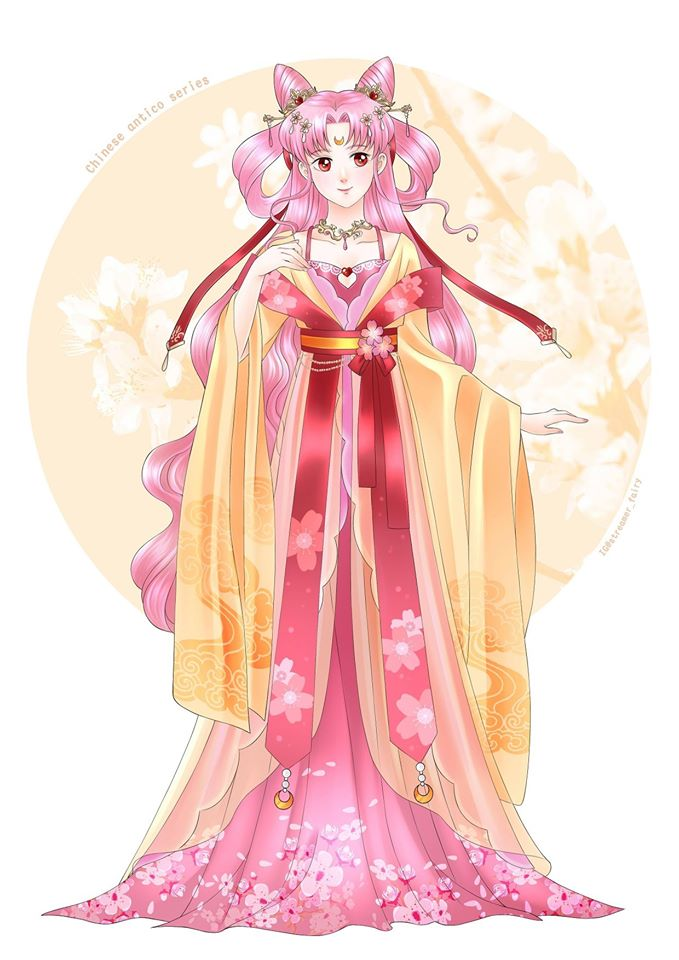 Chinese Sailor Moon Fan Art
