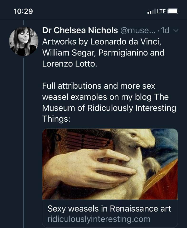 Sex Weasels: A History