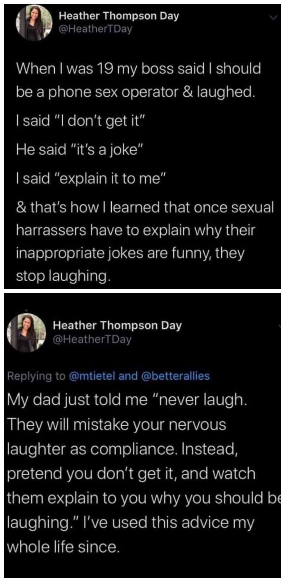 How To Deal With Inappropriate Sexual Jokes