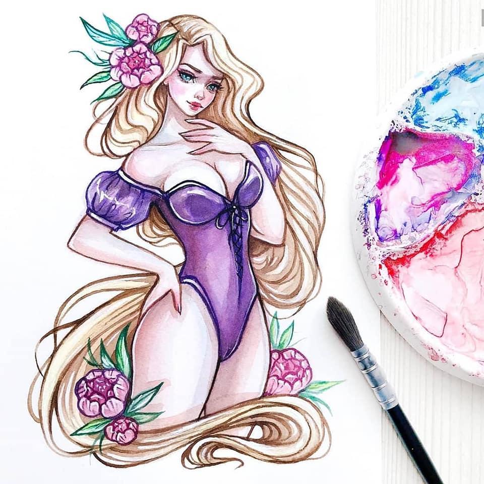 Sexy Disney Princess Pinups