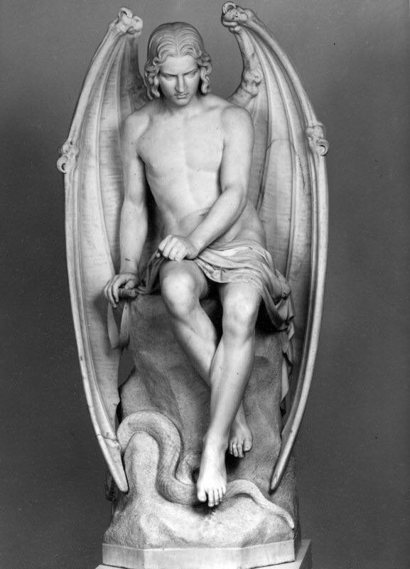 Sexy Lucifer Statue Replaced By Even Sexier Lucifer Statue