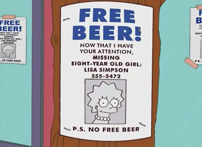 The Funniest Signs from The Simpsons