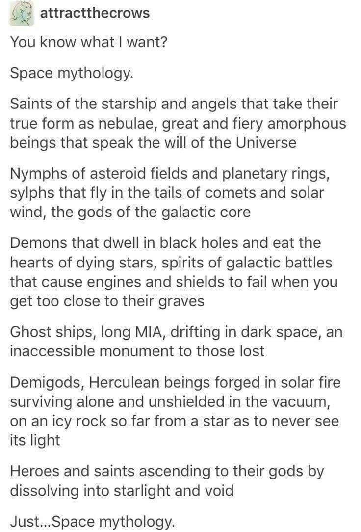 Space Mythology