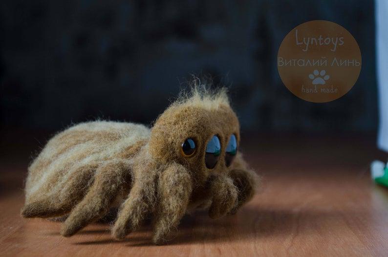 Cute Felt Spider Toy