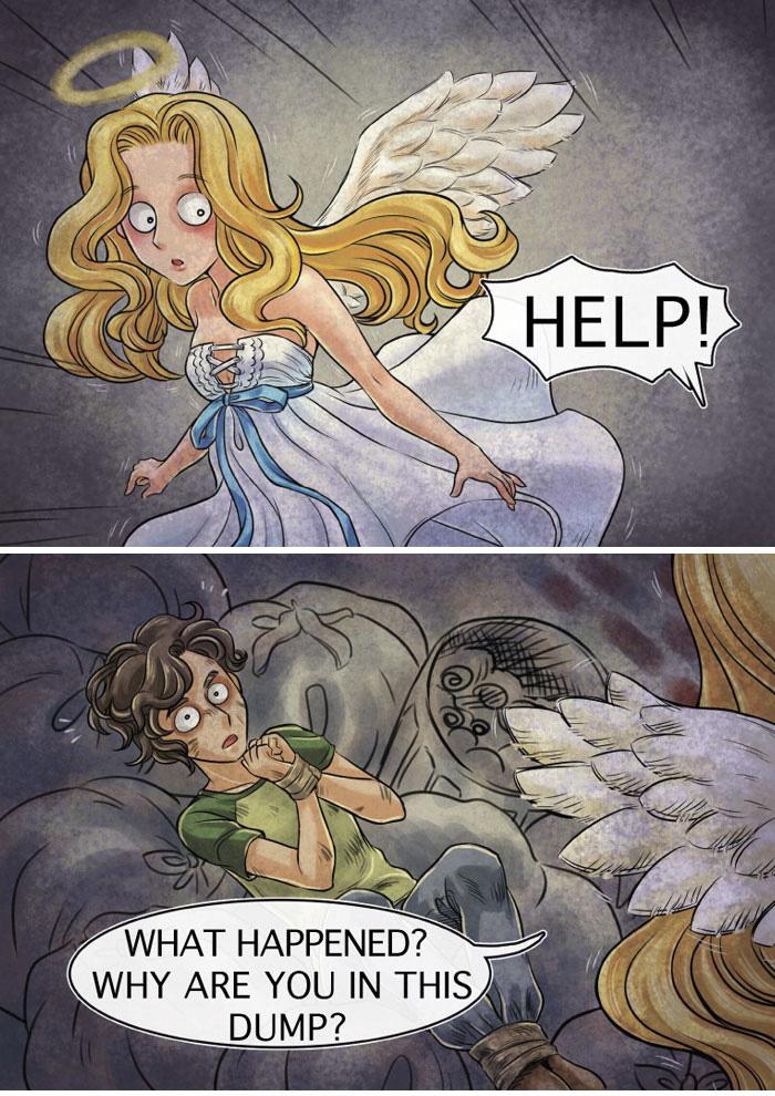 Angel Rescue - Comic