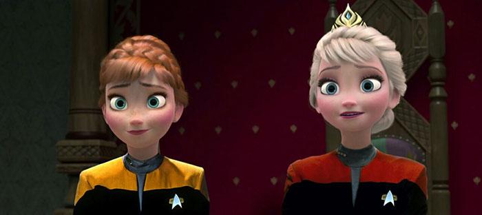 Frozen Star Trek