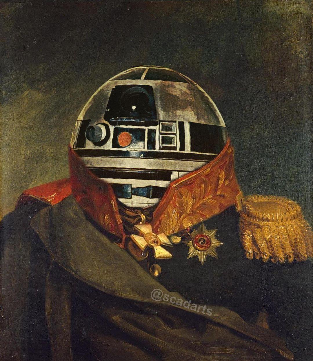 Star Wars Renaissance Portraits
