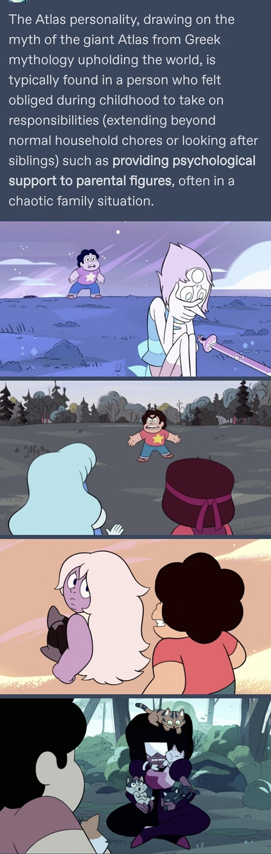 Steven Universe and The Atlas Personality
