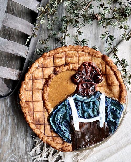 A Pie of the Sweater Wearing Mon Calamari in The Mandalorian