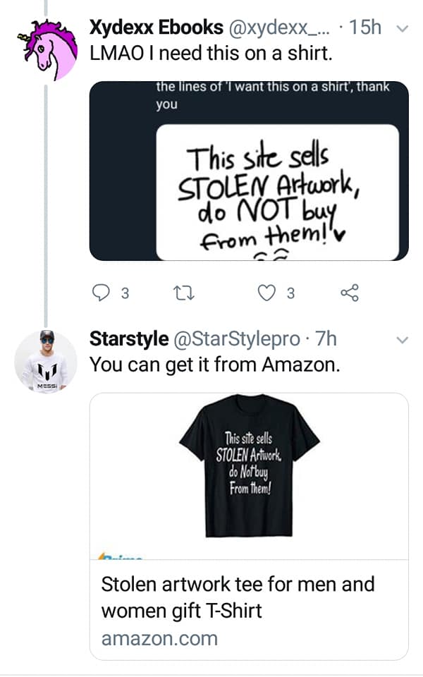 Stolen Artwork T-Shirt Bots