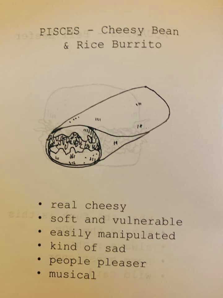 Taco Bell Zodiac