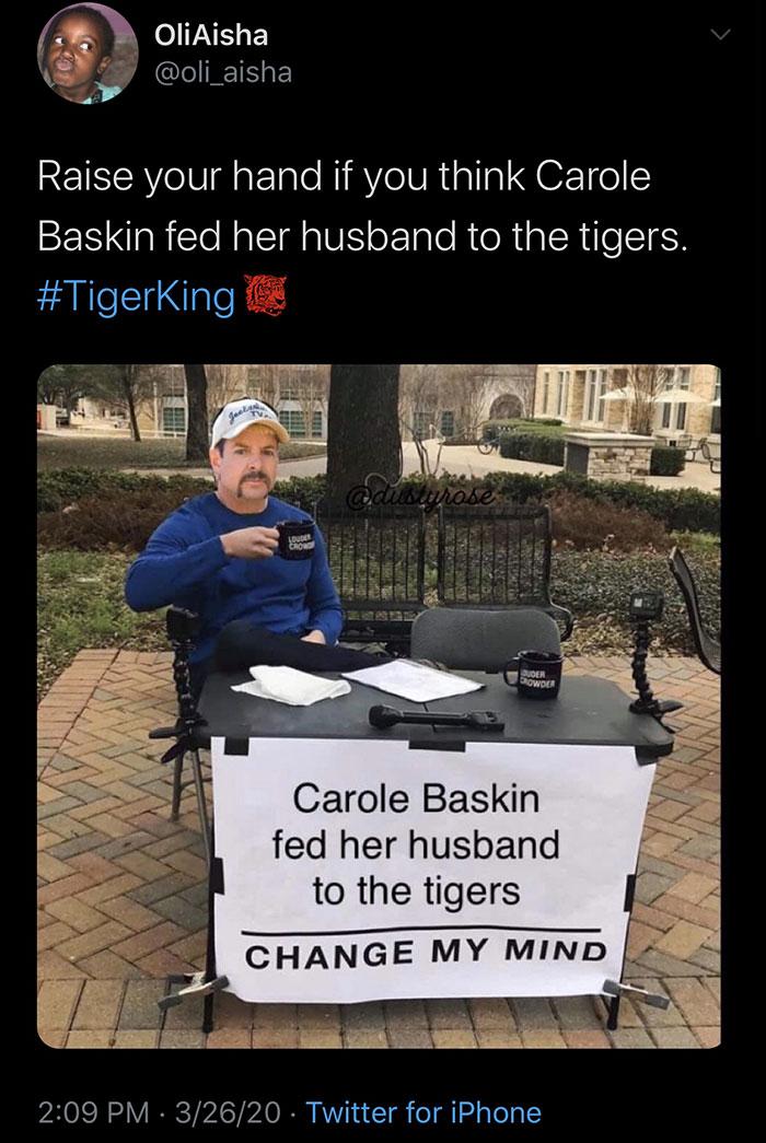 Tiger King Memes