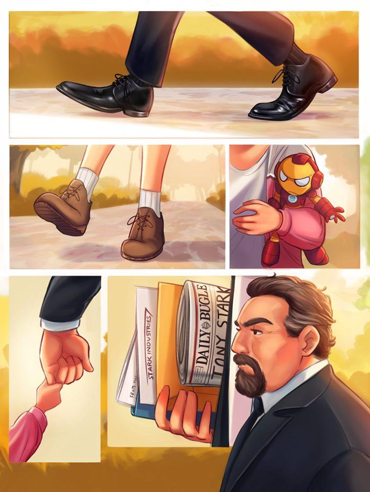 Cheeseburgers : An Avengers Story