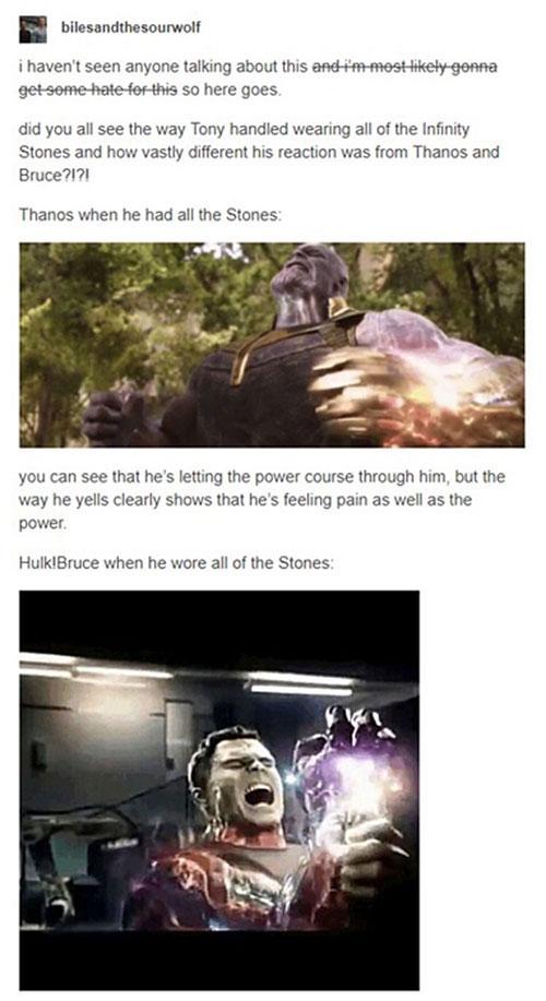 Tony Stark is the Strongest Avenger