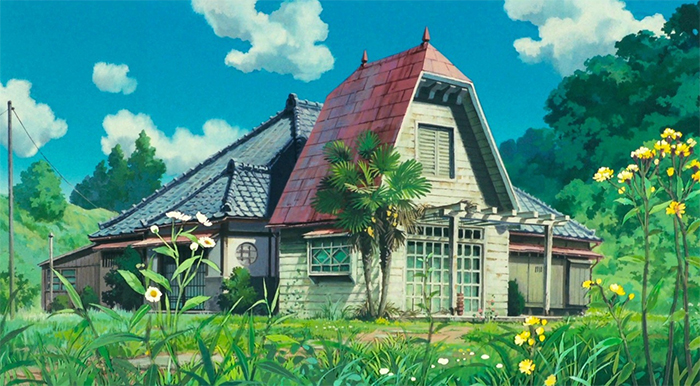 The House from My Neighbor Totoro In Real Life