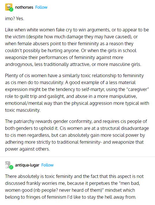 Explaining Toxic Masculinity & Toxic Femininity