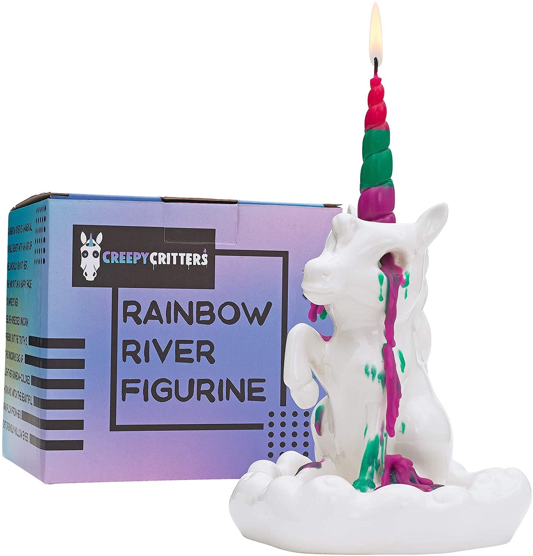 Crying Unicorn Candle Holder