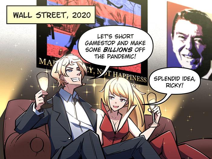 WallStreetBets Comic