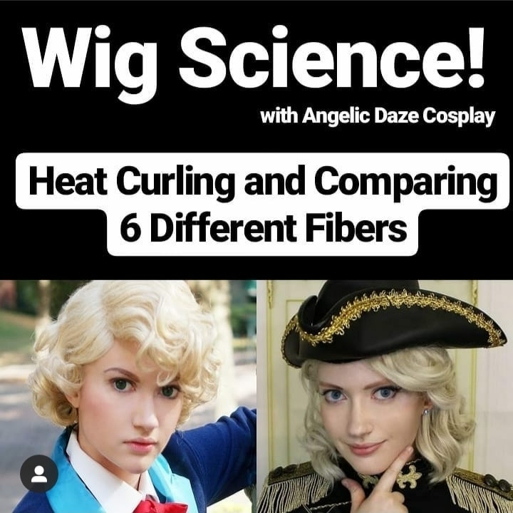 Wig Science - Heat Curling and Comparing 6 Different Fibers