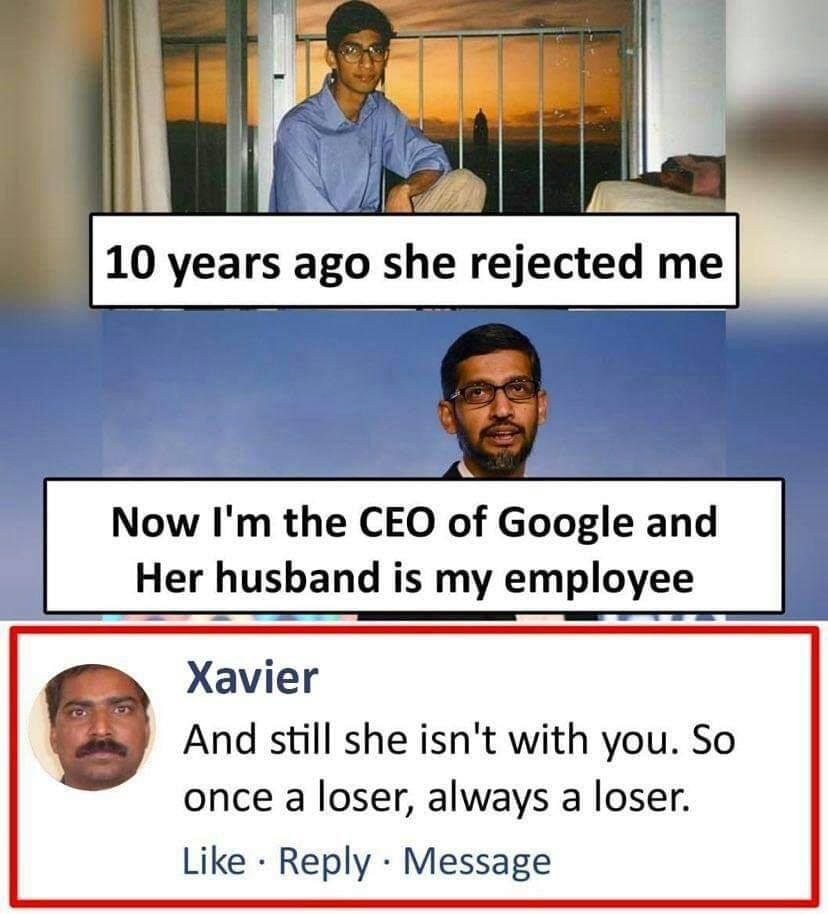 Hilarious Comments by Xavier