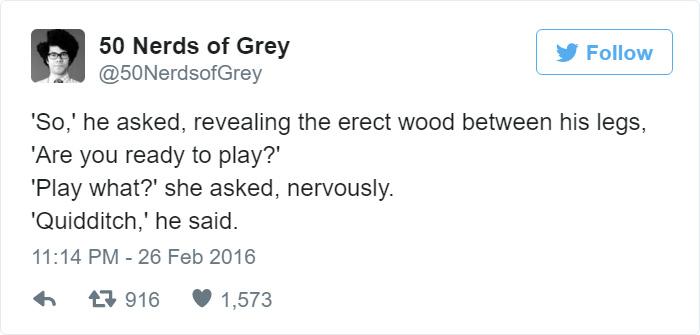50 Shades of Grey Rewritten for Nerds