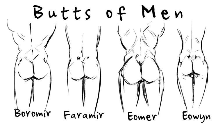 Useful Middle earth naked women
