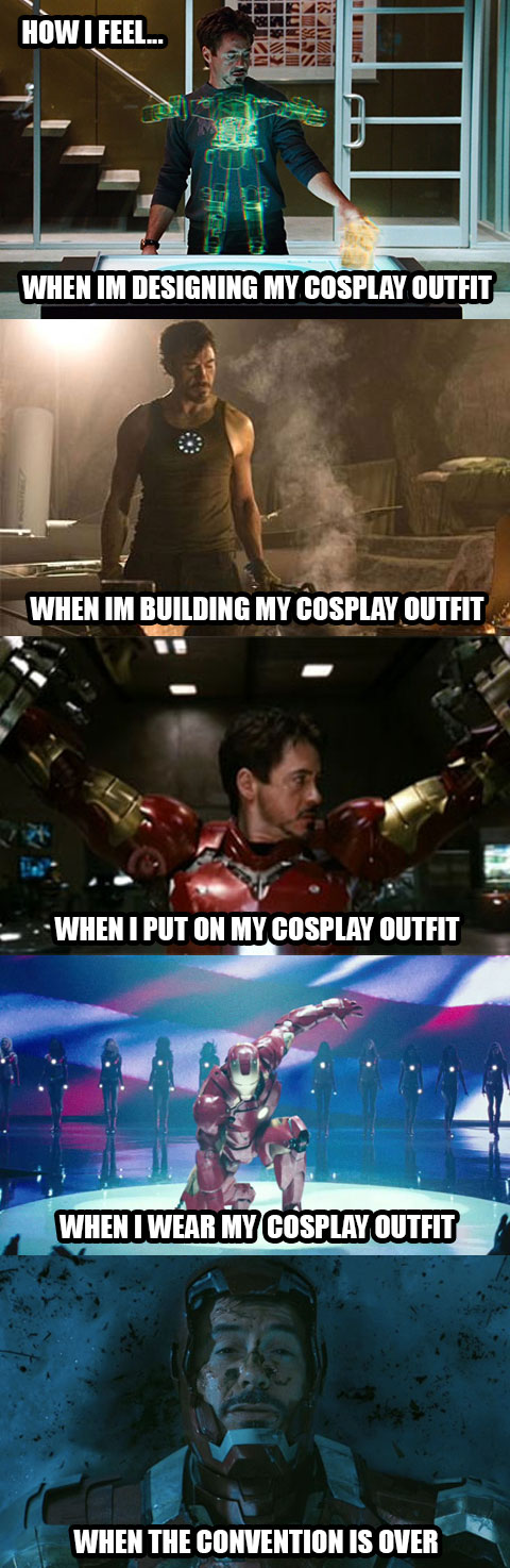 Iron Man Cosplay Meme