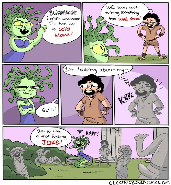 Seduca Medusa Comic