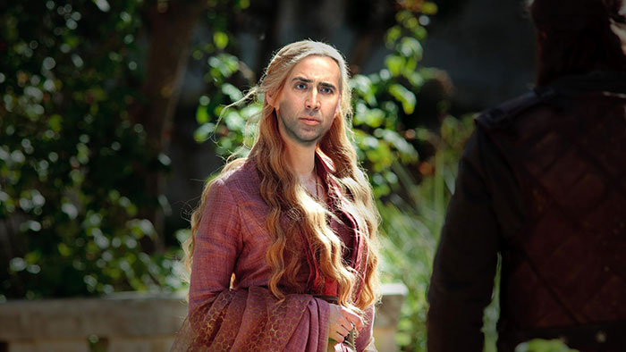 If Nicolas Cage Played Every Character in Game of Thrones