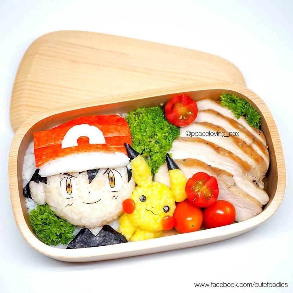 Pokemon Food Art