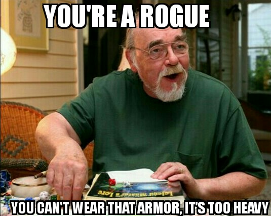 Dungeons & Dragons Rogue Cat