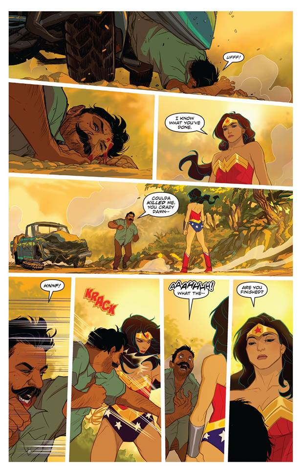 Wonder Woman Tiger Comic