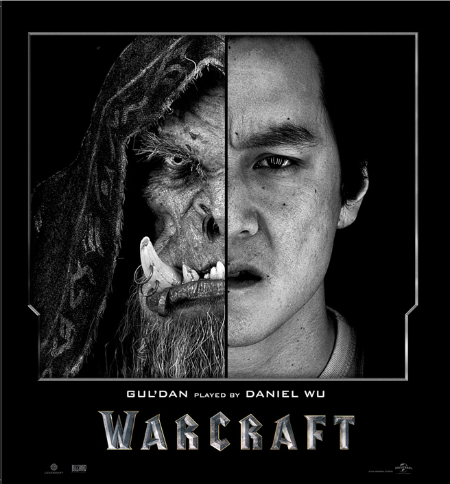 Warcraft Actors and Their CGI Characters