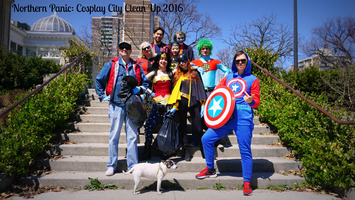Cosplay City Clean Up