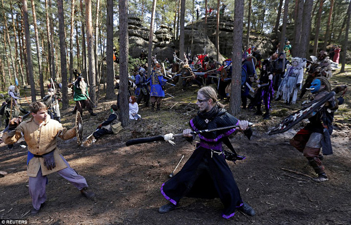 Epic World of Warcraft LARP in the Czech Republic