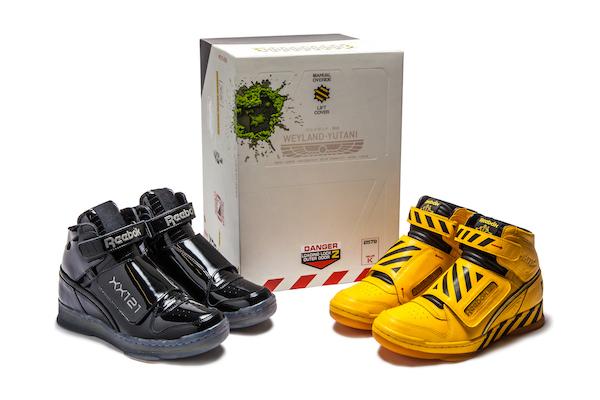 Reebok Alien Xenomorph and Power Loader Sneakers