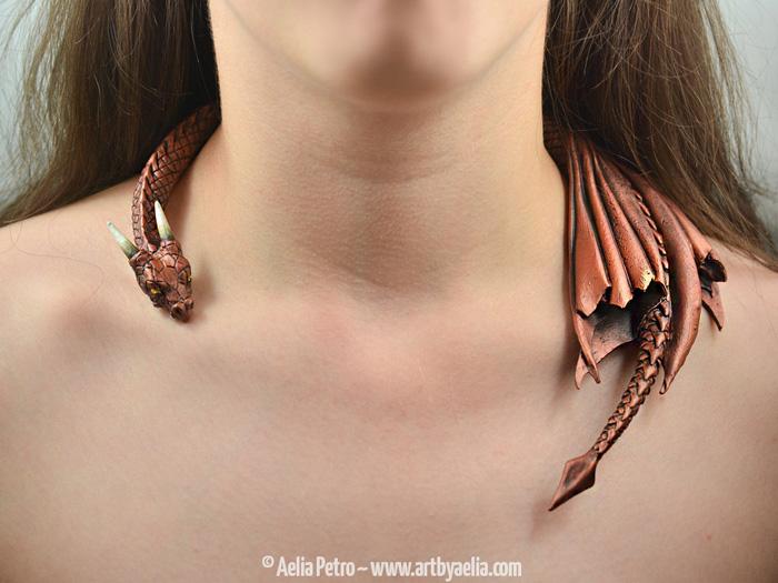 Handmade Dragon Necklaces