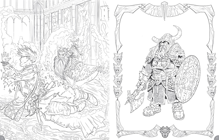 Dungeons Amp Dragons Coloring Book
