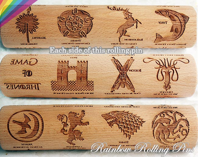 Geeky Rolling Pins