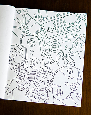 The Happy Geeks Coloring Book Review