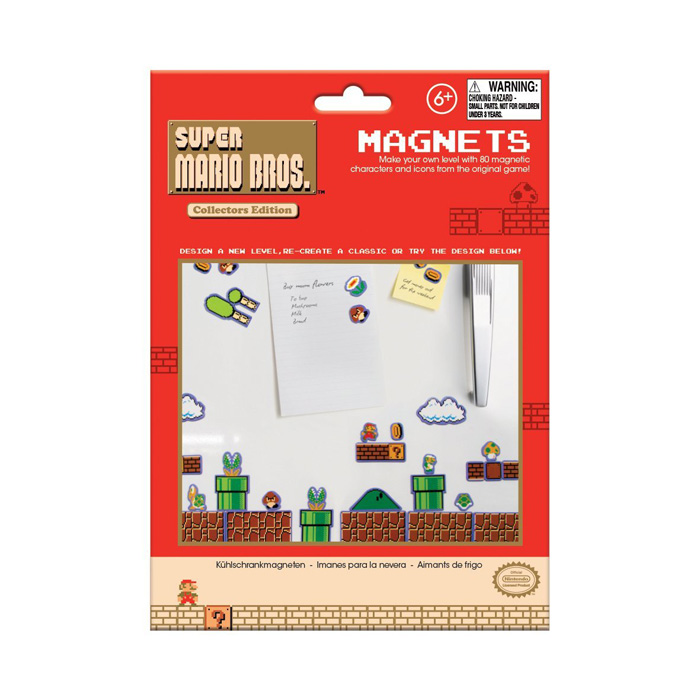Nintendo Super Mario Bros Magnets
