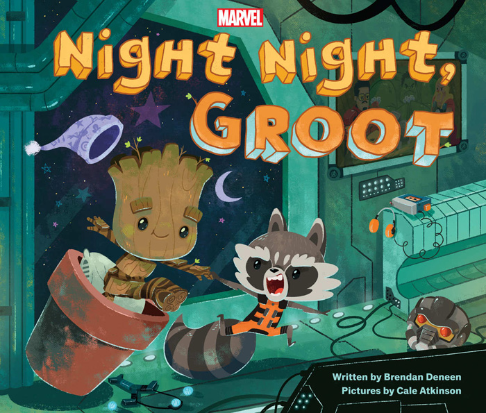 Night Night, Groot - Bedtime Story